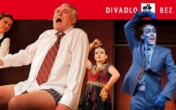 Otevřená vstupenka do Divadla Bez Zábradlí