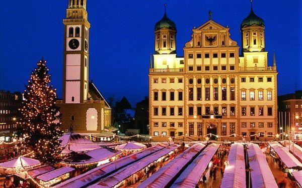 Německo, oblast Bavorské Alpy, snídaně, ubytování v 3* hotelu na 8 dní