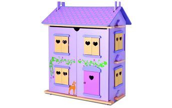 Dřevěný domeček pro panenky Eichhorn S 2497
