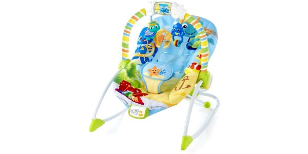 Baby Einstein Lehátko vibrační Rhythm of the Reef Rocker (do 18 kg)
