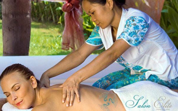 Tradiční orientální tibetská masáž v nádherném luxusním salonu Elite - 60 minut