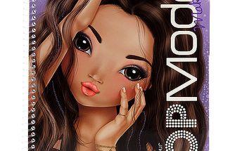 Náddherné omalovánky Vytvoř Make-up Top Model Talita