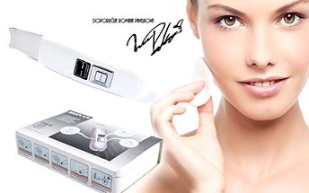 Kosmetický ultrazvukový čistič pleti Slim4beauty