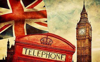 Letecky do Londýna: 4denní zájezd s ubytováním ve 4* hotelu