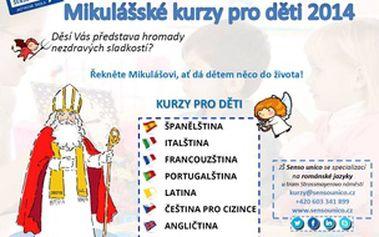 Mikulášské kurzy pro děti
