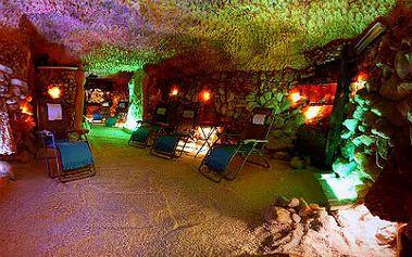 Permanentka na 5 vstupů do solné jeskyně + 2 děti do 6 let zdarma