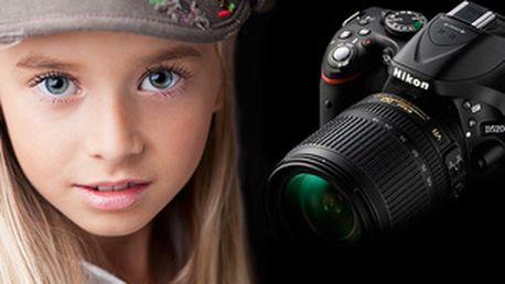 Ovládání digitální zrcadlovky + první krůčky při focení portrétu 6.12. (dárkový poukaz)