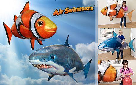 Nejžádanější hračka letošních Vánoc! Originální létající ryba Airswimmer