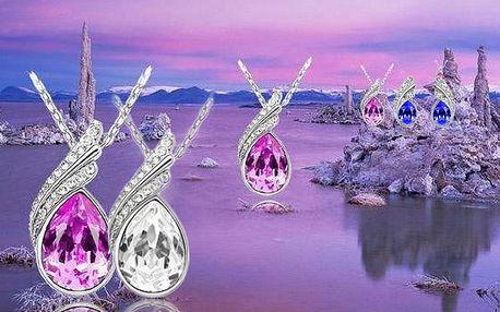 Luxusní sada šperků Afrodité, náhrdelník + náušnice
