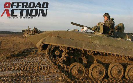Adrenalinová jízda v obrněném transportéru BVP-1