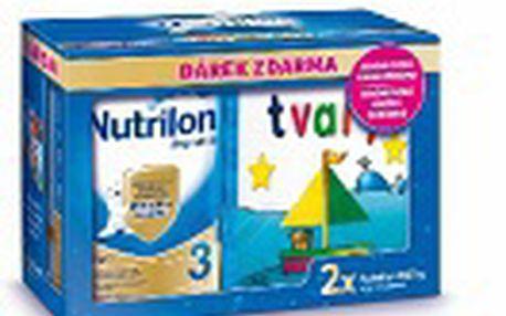 Batolecí mléčná výživa NUTRILON 4 2x800g +magnetická knížka CR