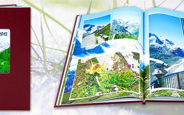 Fotokniha A4 v tvrdých plátěných deskách - až 92 stran: uchovejte své vzpomínky!