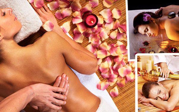 Zvolte si masáž dle vlastního výběru a nechte své tělo i mysl hýčkat 30 -90 minut