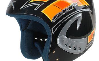 Cenově dostupná helma Iron s možností regulace ventilace
