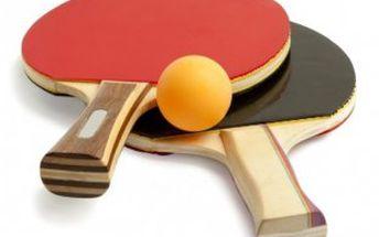 Milujete ping-pong neboli stolní tenis? Už jste si dlouho nezahráli?! Naše sada Vás opět pozve do hry!