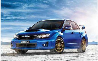 30 minut jízdy ve voze Subaru Impreza WRX STI