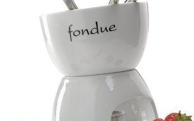 Sada na čokoládové fondue se 4 označenými vidličkami!