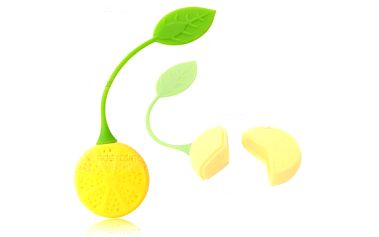 Silikonové sítko na čaj - citrón a poštovné ZDARMA! - 9999905177