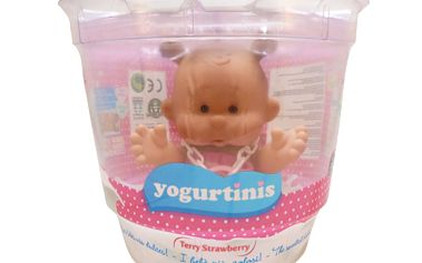 Panenka s vůní ovoce (jahoda) YOGURTINIS baby miminko