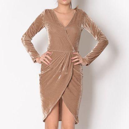 Dámské béžové šaty Santa Barbara
