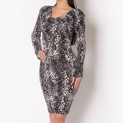 Dámské leopardí šaty Santa Barbara