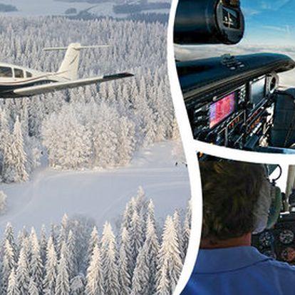 Vyhlídkový let s možností pilotování letadla