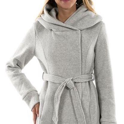 Dámský kabát, šedá