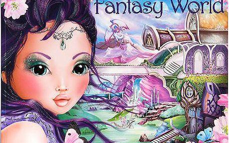 Kreativní sešit se samolepkami z kolekce Fantasy Model