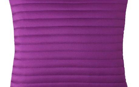 Domarex Povlak na polštářek Mondo fialová, 40 x 40 cm, sada 2 ks
