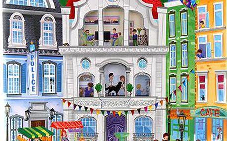 Bláznivé město - kreativní omalovánky z kolekce TOP Model