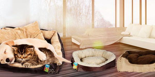Pohodlný psí pelíšek Majlo s pratelným polštářem