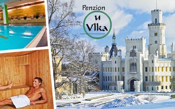 Relaxační zimní pobyt s prohlídkou zámku Hluboká