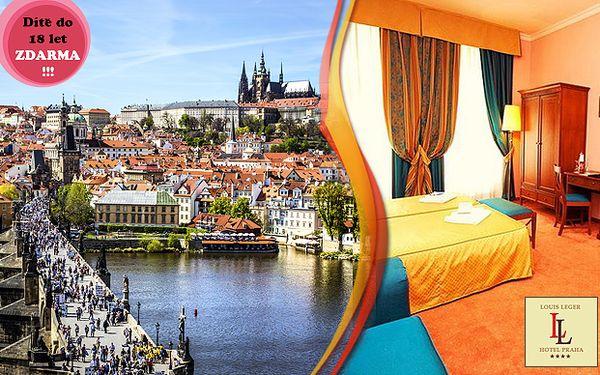 Pobyt pro 2 v centru Prahy v luxusním Hotelu Louis Leger****