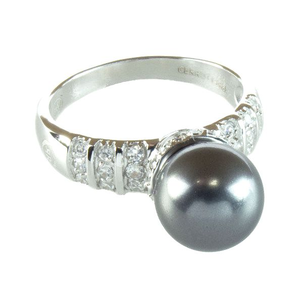 Dámský prstýnek s perličkou Cerruti 1881