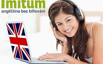 Roční online kurz angličtiny bez biflování se slevou 82 %