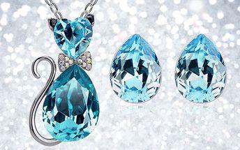 Set šperků Crystal Catty Elements levně!