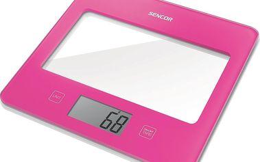 Sencor SKS 5028RS kuchyňská váha růžová