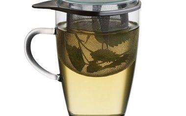 Čajová sklenice se sítkem