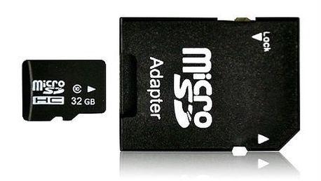 16GB nebo 32GB SD karta včetně poštovného
