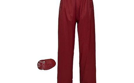 Skládací nepromokavé červené kalhoty