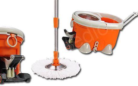 Rotační mop 21home L007 oranžový