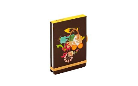 Vanity, flip-pad notes - 13x9 cm, linkovaný