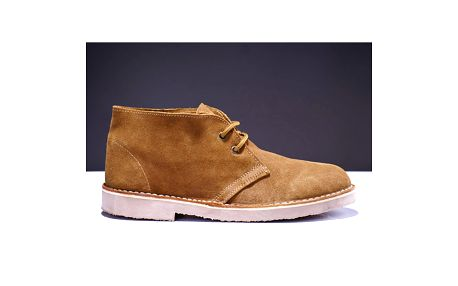 Pánské světle hnědé kotníčkové boty Roamers