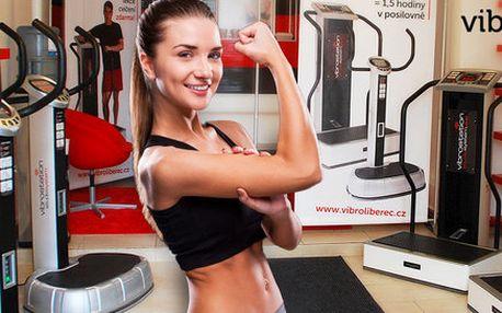 Permanentky na vibrační trénink pro zpevnění těla