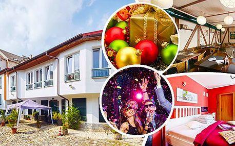 Vánoce nebo Silvestr v hotelu Clochard *** pro jednu osobu na 4 dny s bohatým programem. Čeká Vás štědrovečerní nebo silvestrovské menu, živý beltém, vánoční mše, vstup do Vánočního domu, aquasvěta, zooparku, na zámek a další překvapení!