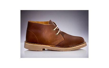 Pánské hnědé kotníkové boty Roamers