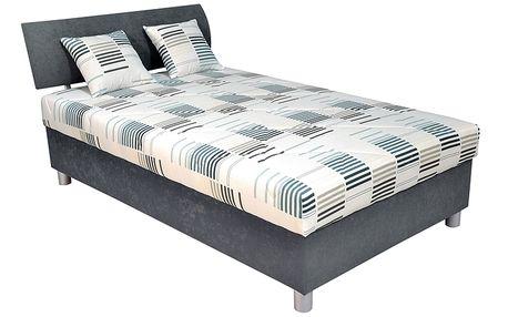 Čalouněná postel BLANÁŘ George 120x200 cm