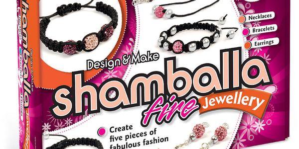 Sada na výrobu šperků MyStyle - Shamballa ohnivé šperky
