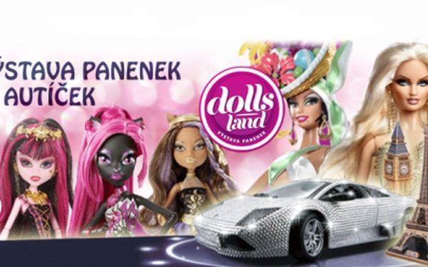 UNIKÁTNÍ VÝSTAVA 1200 panenek Monster High a Barbie a výstava autíček a motorek v Praze! Potěšte své děti!