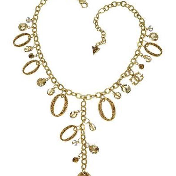 Guess náhrdelník s korálkami UFN90802
